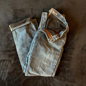 Men's insulated Carhartt work denim jeans 34 x 32